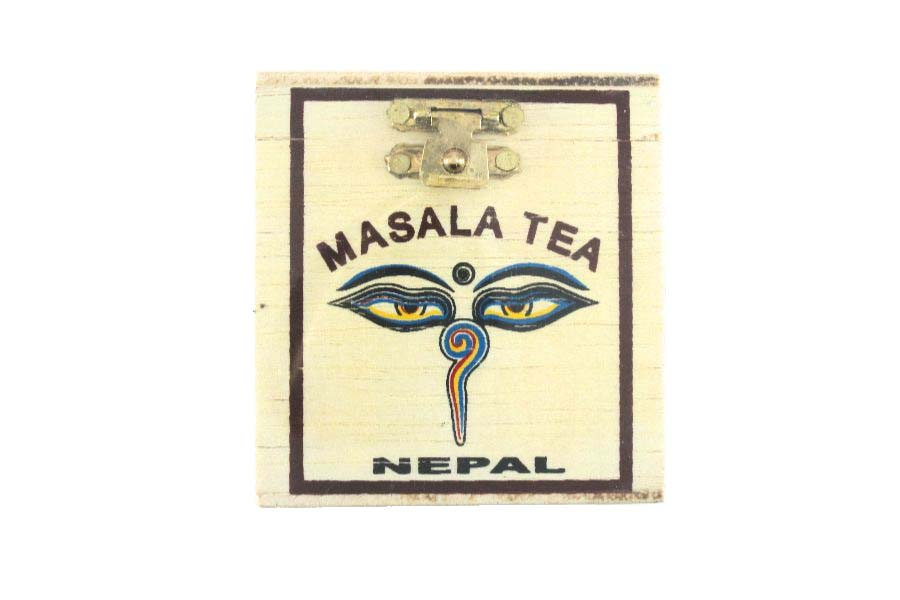 CTC tea blended with herbs and spices
