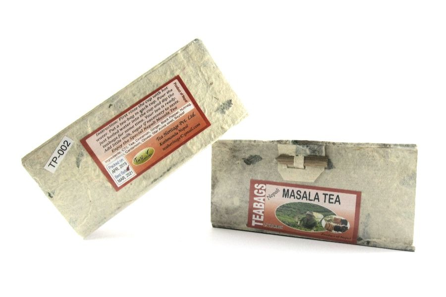 CTC tea blended with natural spices.